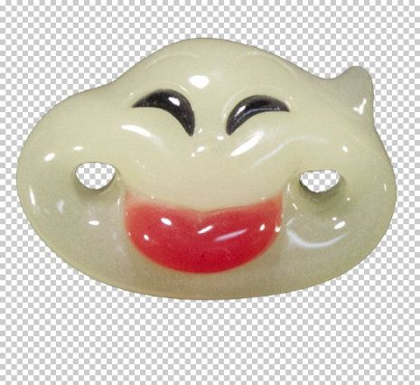 Billy Bob SFX Pacifier Baby Boo - the Ghost Baby Soother Comforter Dummy